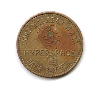 Old 1980's Hyperspace Arcade Token E.T. | by gregg_koenig