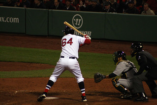 Middlebrooks about to get a double to deep right | by ConfessionalPoet