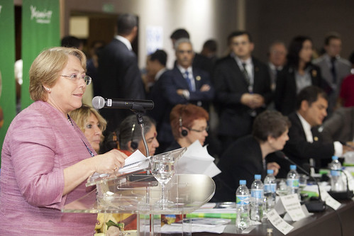 UN Women Executive Director Michelle Bachelet Speaks at Yasuni-ITT Event at Rio+20 | by UN Women Gallery