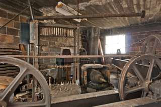 Old Otis Elevator Equipment Copper And Brass Stripped By