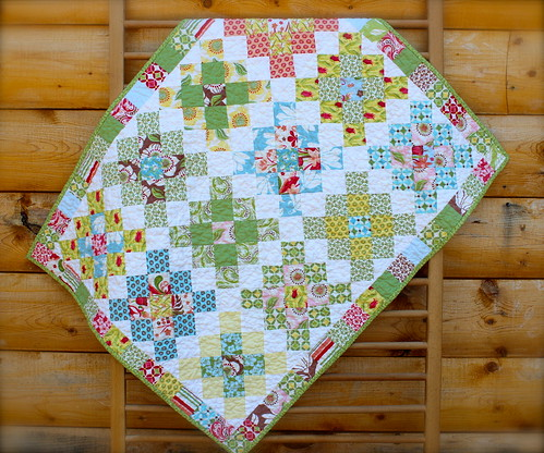 Verna Granny Square Baby Quilt | by CoraQuilts~Carla