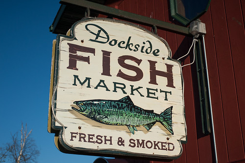 Dockside Fish Market Sign | by goingslowly