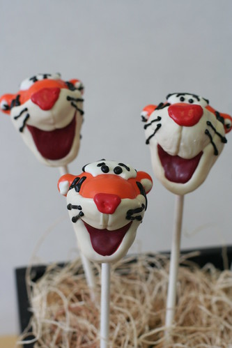 Tigger Cake Pops | by Sweet Lauren Cakes