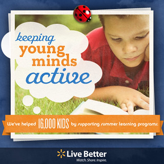 Keeping young minds active | by Walmart Corporate