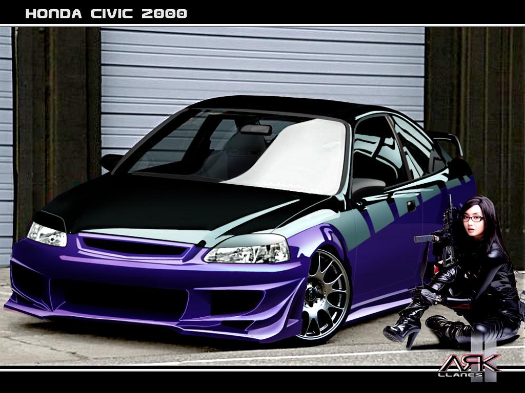 ... 62_Wallpaper Honda Civic Coupe 2000 Tuning By ARK Llanes | By Ark Llanes