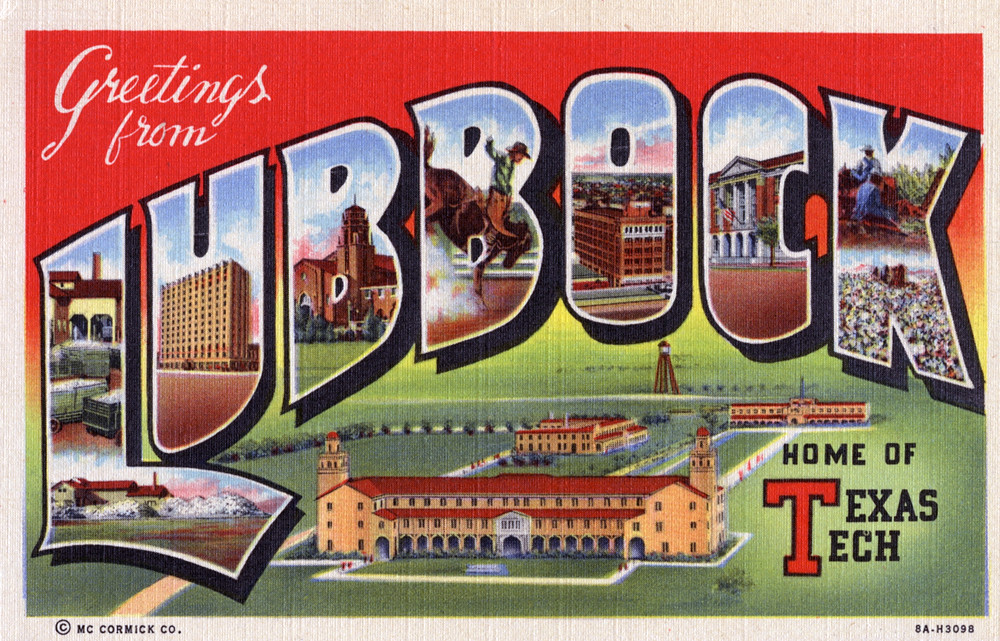Greetings from lubbock texas home of texas tech large flickr greetings from lubbock texas home of texas tech large letter postcard by m4hsunfo