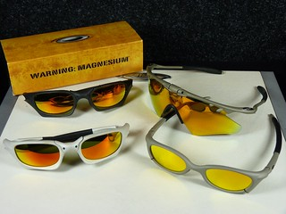 Oakley Magnesium Collection - MAG Four S / MAG Switch / MAG M Frame Heater | by tag_mclaren