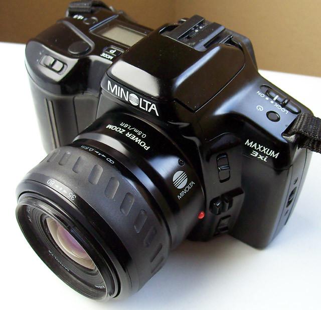 minolta maxxum 3xi with power zoom lens 1991 7usd buy flickr rh flickr com Minolta Auto Focus Camera minolta maxxum 3xi owners manual