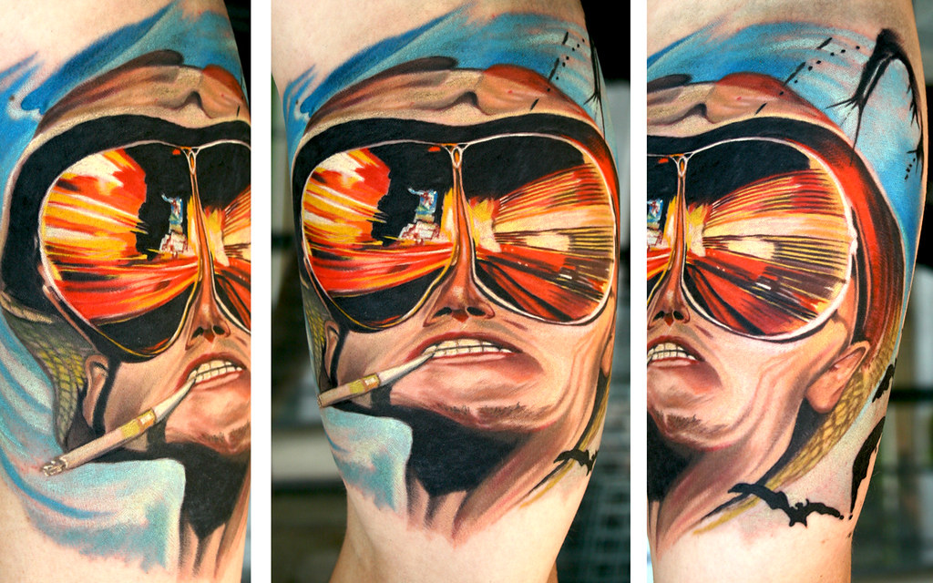 Fear And Loathing In Las Vegas By Todo Abt Tattoo Todo911 Flickr