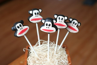 Paul Frank Monkey Cake Pops | by Sweet Lauren Cakes
