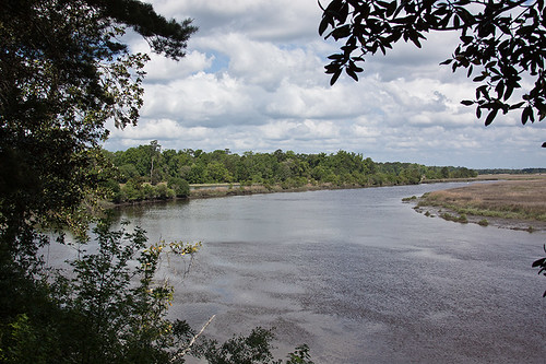 View of Ashley River from Middleton Place | by bsouthj