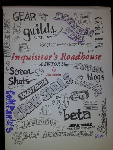 Inquisitor's Roadhouse Tag Cloud | by ItsLilpeanut