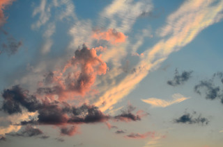 Cloud Iridescence and Pink Clouds | by hpaich