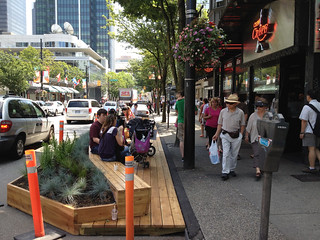 Urban Pasture Parklet on Robson #2 | by Paul Krueger
