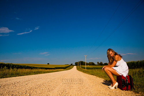 Gravel road | by convergingphoto