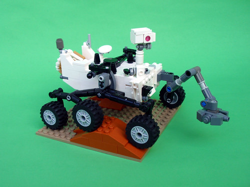 Updated Curiosity Rover 01 | by Apojove