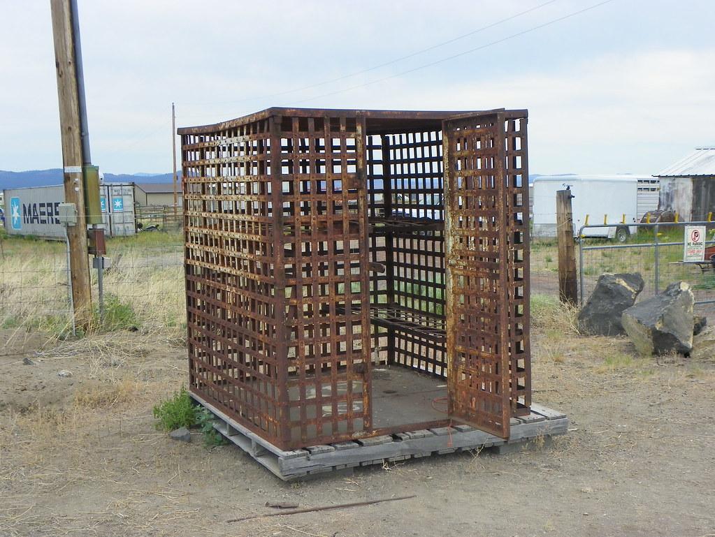 Old Jail? | Brothers, Deschutes County, Oregon | J  Stephen