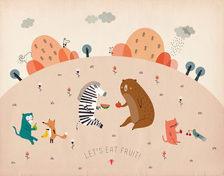 Let's eat fruit! | by stefania manzi