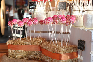 Piped Cake Pops in Hay Bales | by Sweet Lauren Cakes