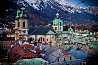 View from a Church Tower, Innsbruck, Austria | by Shang hi Noon