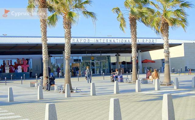 Главный вход в Аэропорт Пафос, Кипр