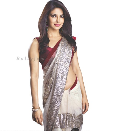 Priyanka Chopra Looking Gorgeous in Saree - www. Bollyfame.com | by Bollyfame