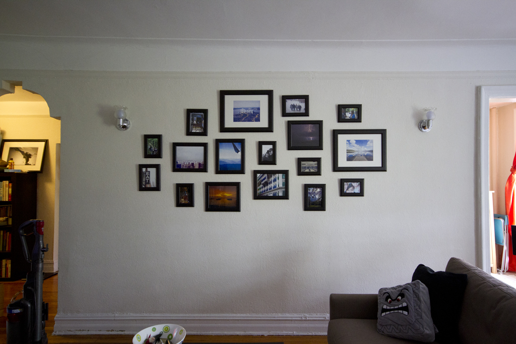 we have a frame cluster wall! | We have grand plans of swapp… | Flickr