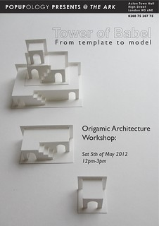 ORIGAMIC ARCHITECTURE WORKSHOP!!! | by elod beregszaszi