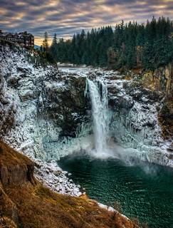 Snoqualmie Falls Winter | by Fresnatic