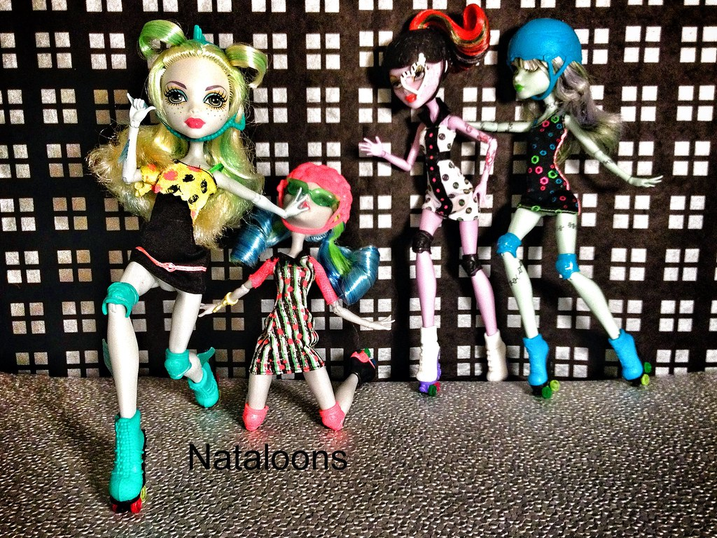 Monster High Roller Maze Welcome Guys And Ghouls To The Fi Flickr