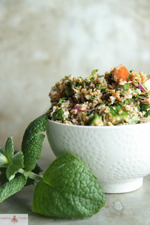 tabbouleh salad | by Heather Christo