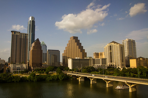 Austin Skyline and Congress Street Bridge