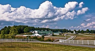 Summer Clouds ~ Pineland Farms, New Gloucester | by Vicki Lund Photography