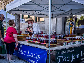 The Bearded Jam Lady | by Ian McKenzie