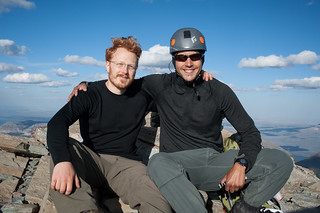 Tyler and Alex at Summit of Mt. Siyeh | by goingslowly