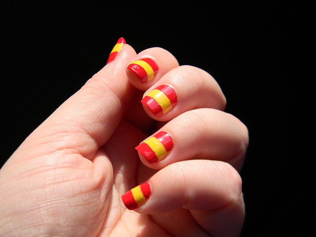 Spanish nails   Toxic Vanity   Flickr