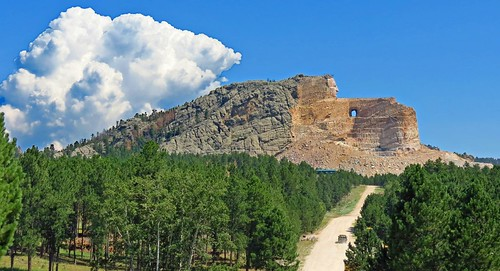 Crazy Horse Emerges from his Mountain | by wbirt1