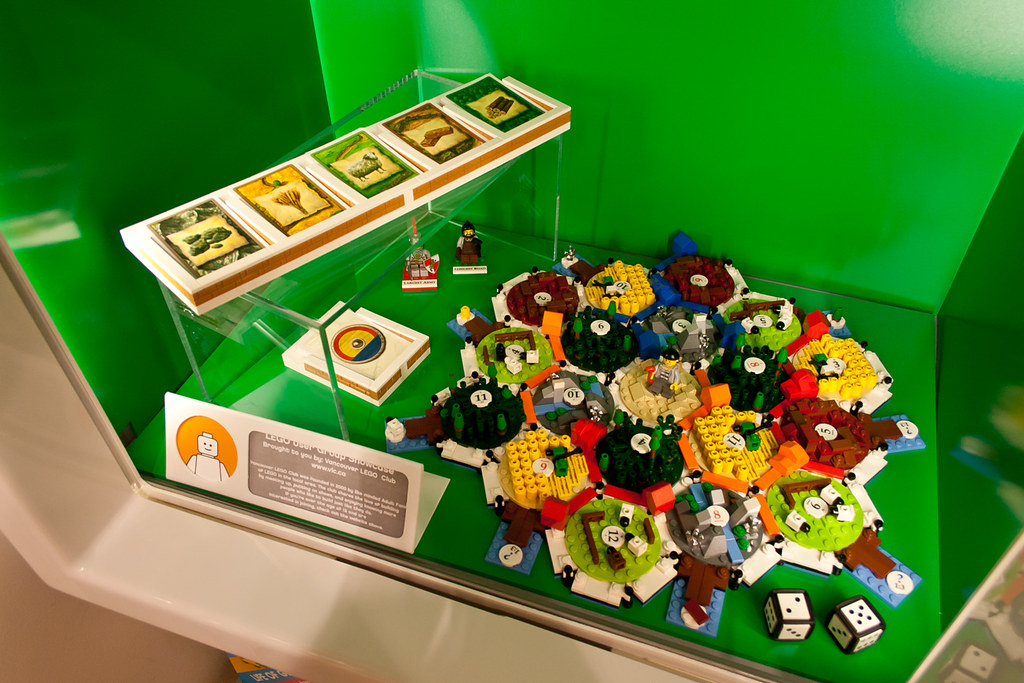 Lego Settlers of Catan at the LEGO Store | This is my Lego S… | Flickr