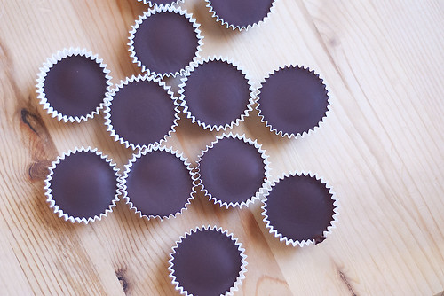 Homemade peanut butter cups | by Kuky Ideas
