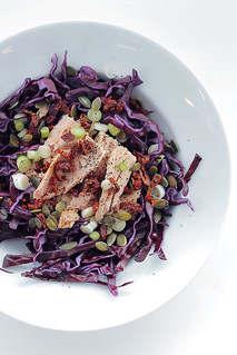 Red Cabbage, Tuna and Sundried Tomatoes | by Salad Pride