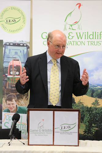 Jim Paice speaking at the Allerton Project in Loddington | by Department for Environment, Food & Rural Affairs