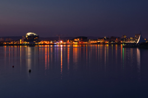 Cardiff Bay at Night | by Edward Bentley