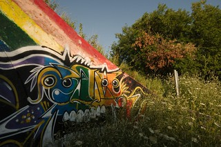 Day 194 alternate: Graffiti in the park | by sevenman