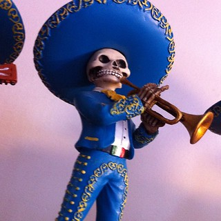 Day of the Dead Mariachi player #sandiego | by catspyjamasnz