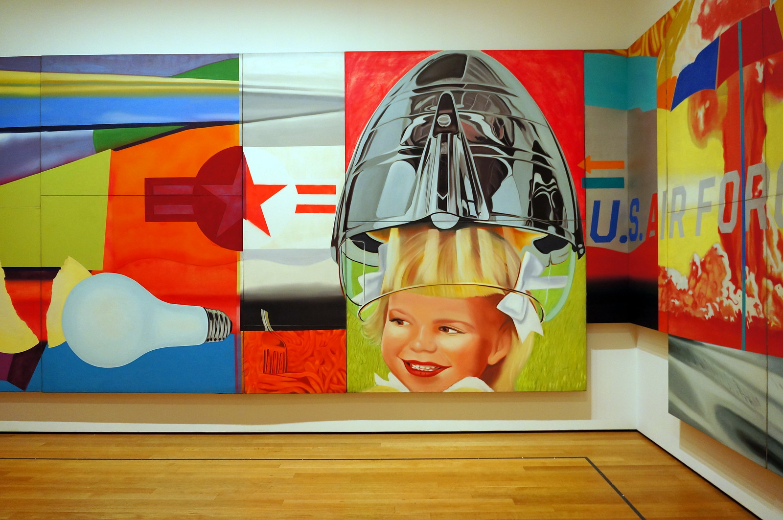 F-111, James Rosenquist (detail) | by riomaro