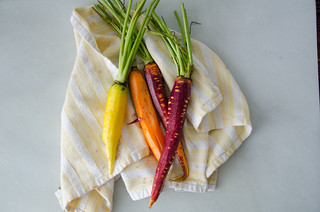 colorful carrots from the market | by sassyradish