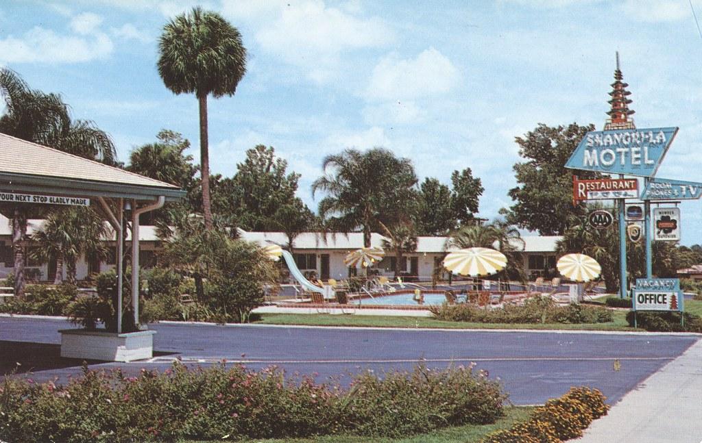 Shangri-La Motel & Restaurant - Ocala, Florida