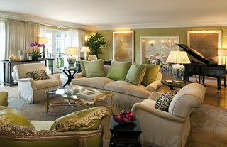 The Peninsula Suite - Living Room | by The Peninsula Beverly Hills