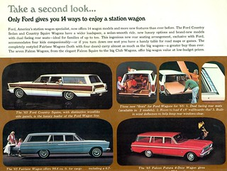 1965 Ford Wagons | by coconv