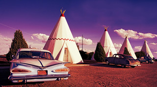 Wigwam Motel on Route 66 - by Carol Highsmith (Public Domain) | by KurtClark
